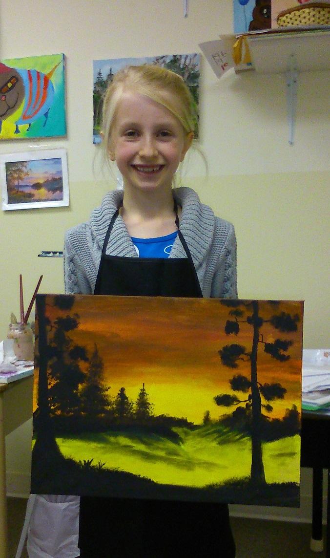 Красивые рисунки для детей 9 лет